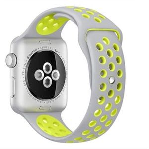 Accessories - For Apple Watch Silicone Perforated Band,42mm